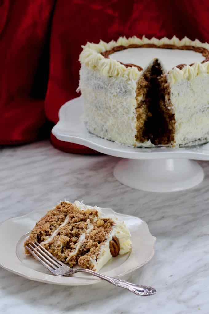 traditional hummingbird cake