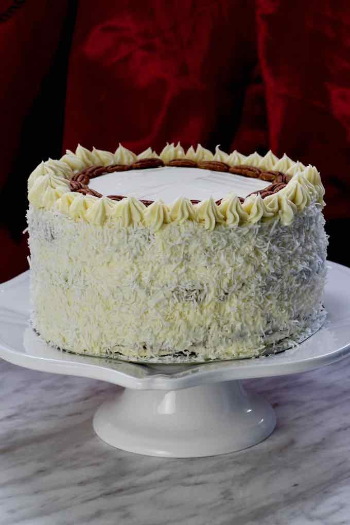 authentic hummingbird cake