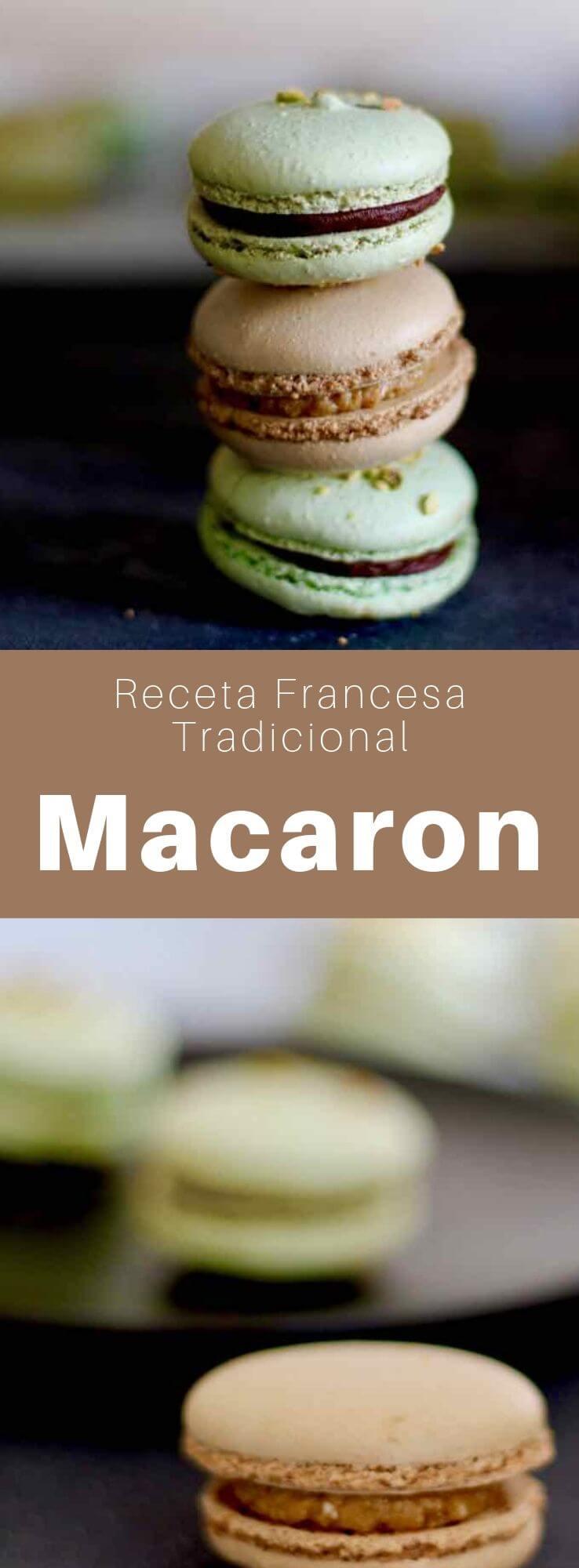 El macarón, conocido como macarón parisino, es una pequeña galleta a base de almendra, que se ha convertido en un pilar de la pastelería francesa.