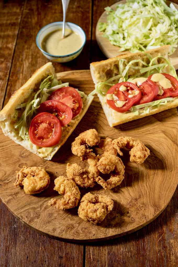 authentic po' boy