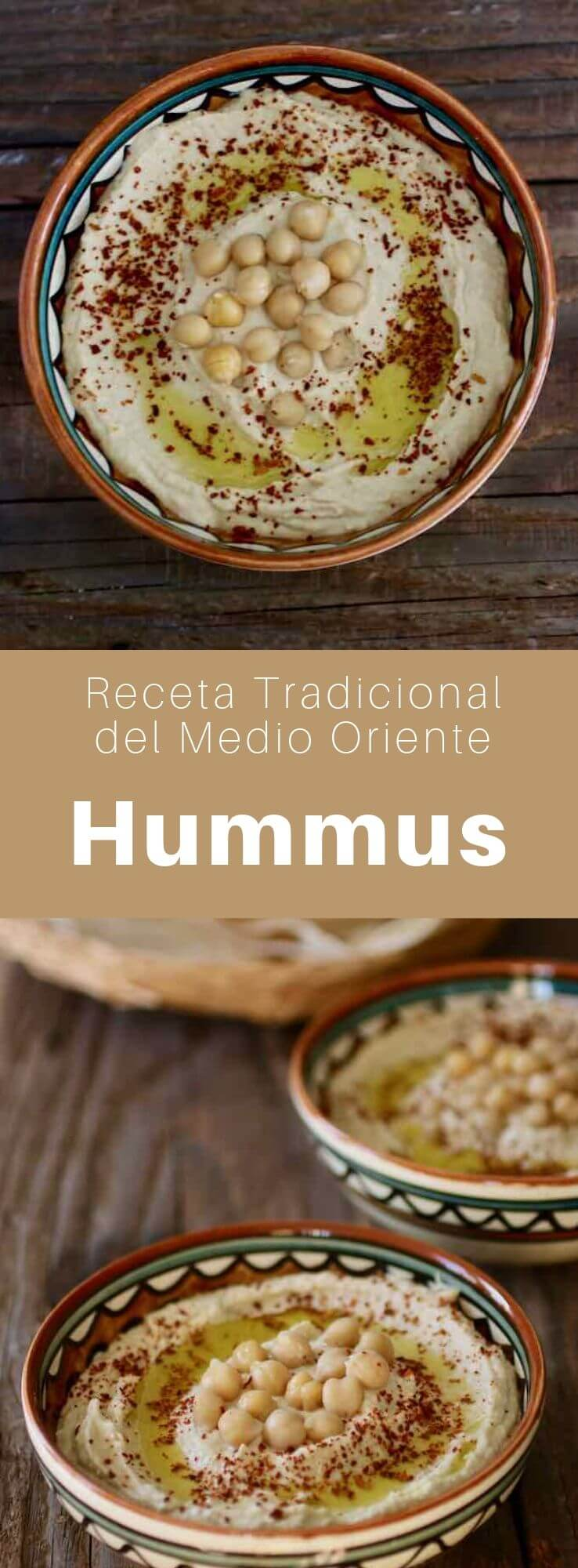El hummus es una preparación del Medio Oriente que consiste en un puré de garbanzos con tahini. Es un plato típico de la cocina árabe, judía, armenia y levantina.