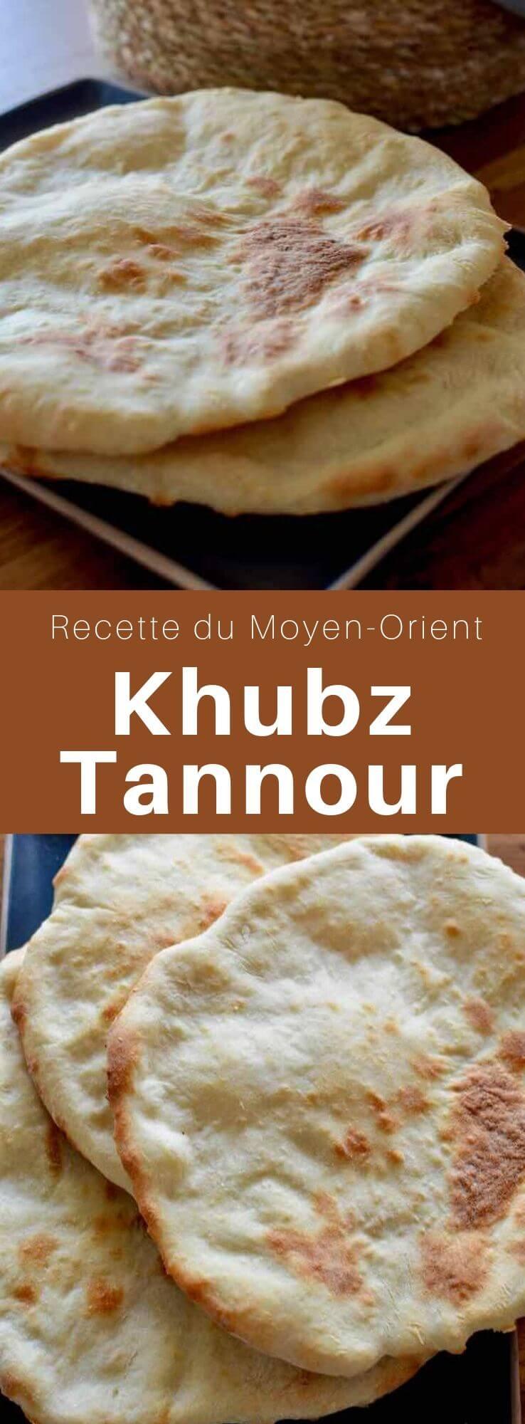 Le khubz tannour un pain plat traditionnel réputé en Irak mais également dans le Moyen-Orient. Il est à l'origine cuit dans un four en dôme en argile appelé tannour mais peut également être cuit au four traditionnel. #Irak #RecetteIrakienne #CuisineIrakienne #CuisineDuMonde #196flavors