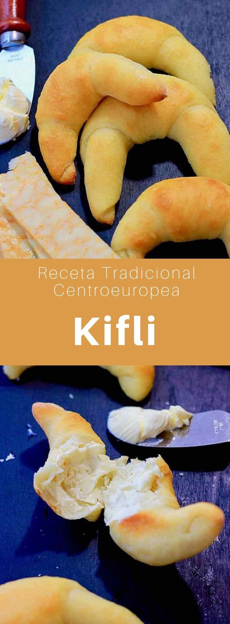 Los kifli (kifla, kifle o kipferl) son bollos en forma de media luna, populares en Europa Central y Oriental, especialmente en Bosnia y Herzegovina, República Checa, Eslovaquia, Hungría, Rumania, Croacia, Serbia, Bulgaria, Macedonia del Norte y Austria.
