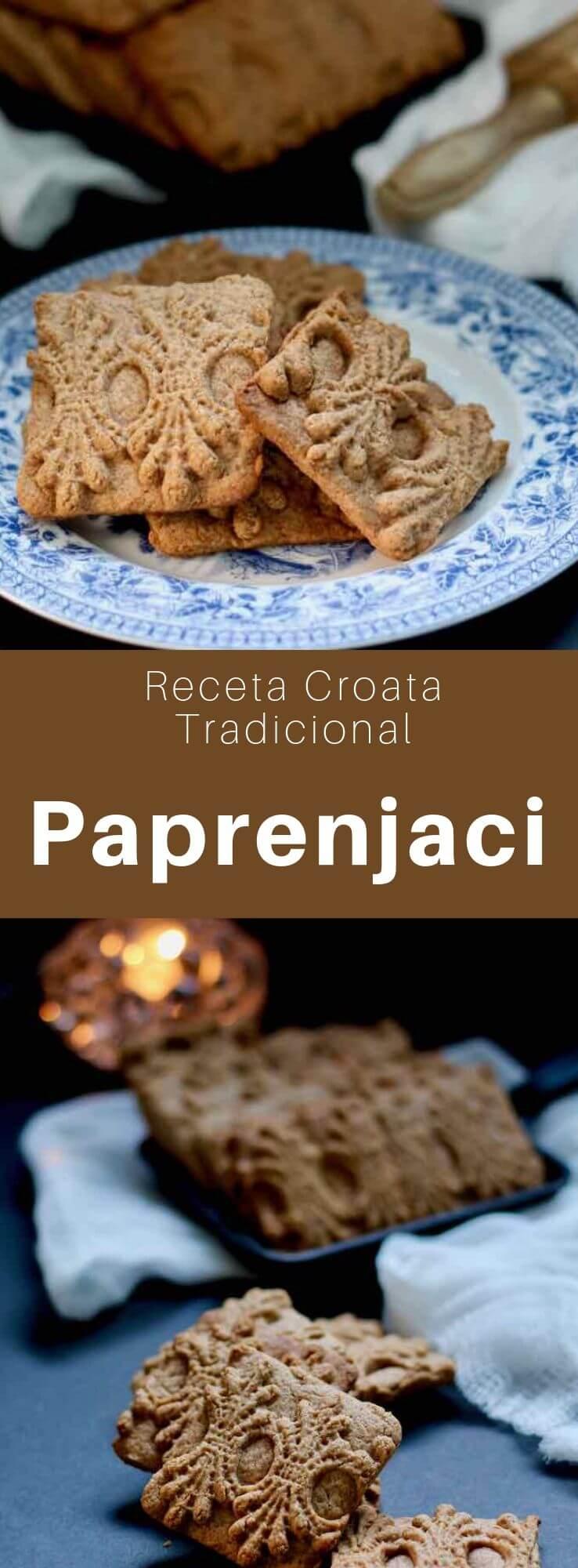 Las galletas paprenjaci (paprenjak, en singular) son galletas croatas tradicionales con sabor a miel y pimienta negra.