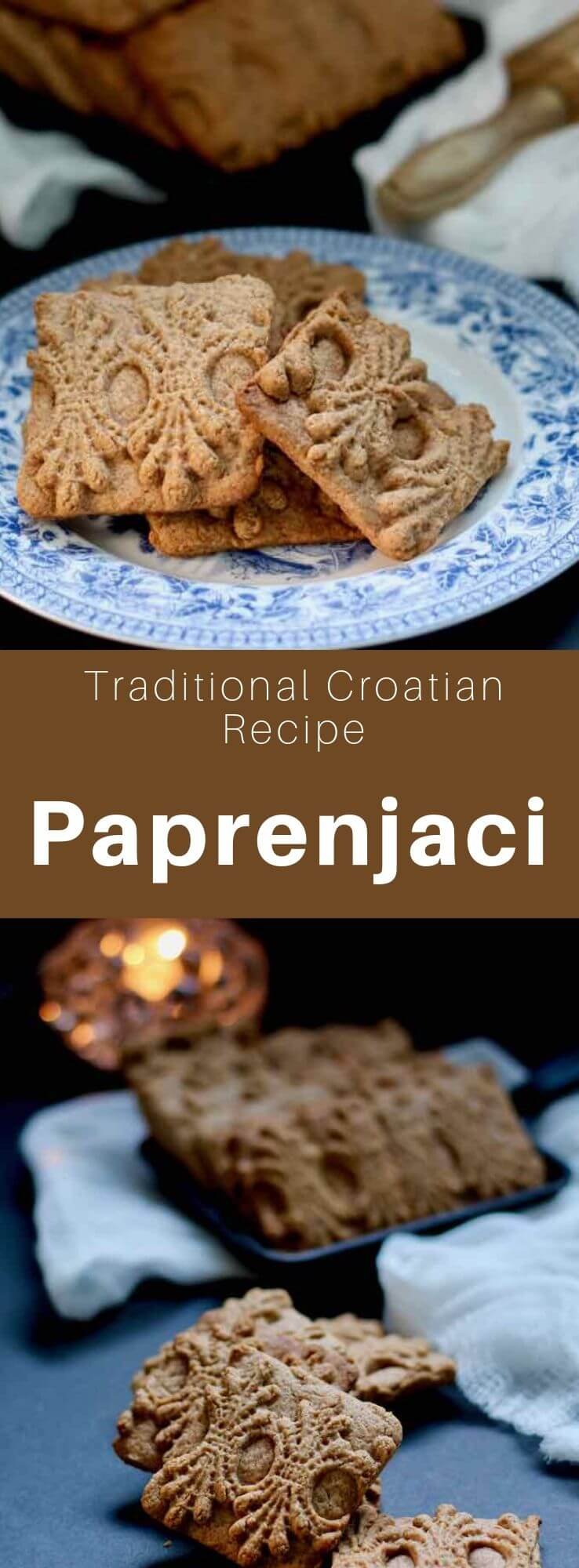 Paprenjaci (singular paprenjak) are traditional biscuits of Croatian origin hat are flavored with honey and black pepper. #Croatia #CroatianRecipe #CroatianCuisine #Balkans #WorldCuisine #196flavors