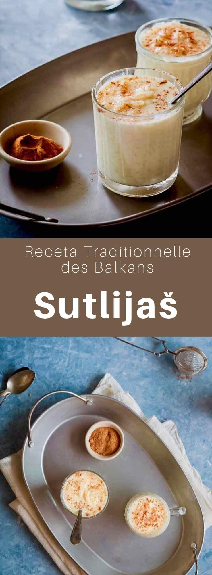 Le sutlijaš ou sutlija est un riz au lait sucré, parfumé à la cannelle, typique des Balkans et de la Turquie. #Balkans #Turquie #CuisineDuMonde #196flavors
