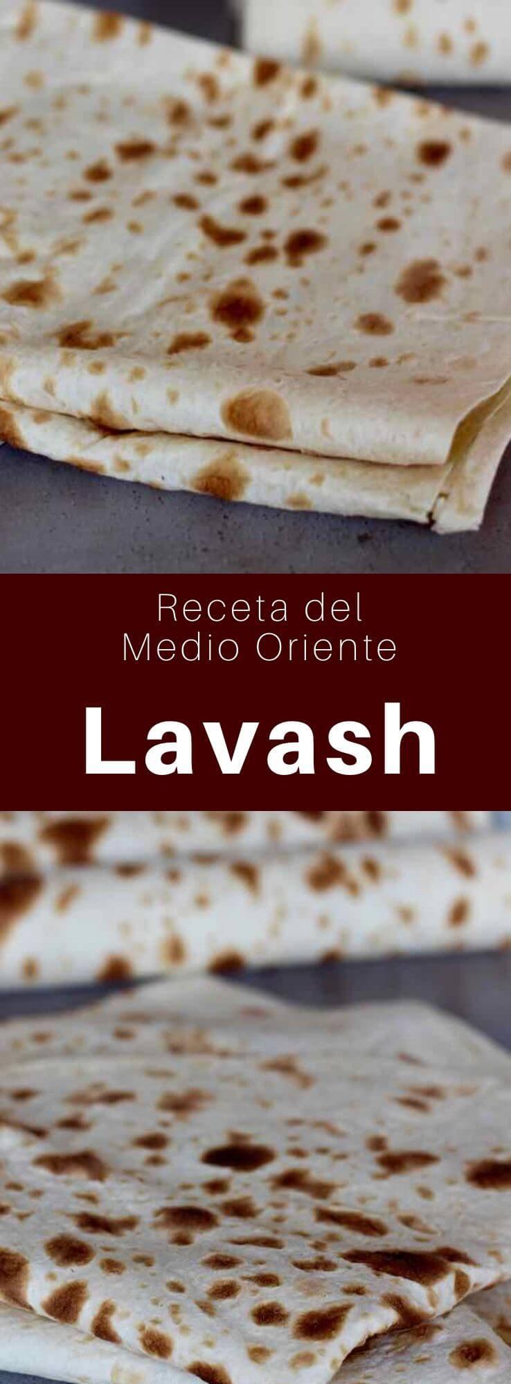 El lavash es un pan sin levadura común en Armenia y en la mayoría de las regiones del Medio Oriente, Transcaucasia y Asia occidental.