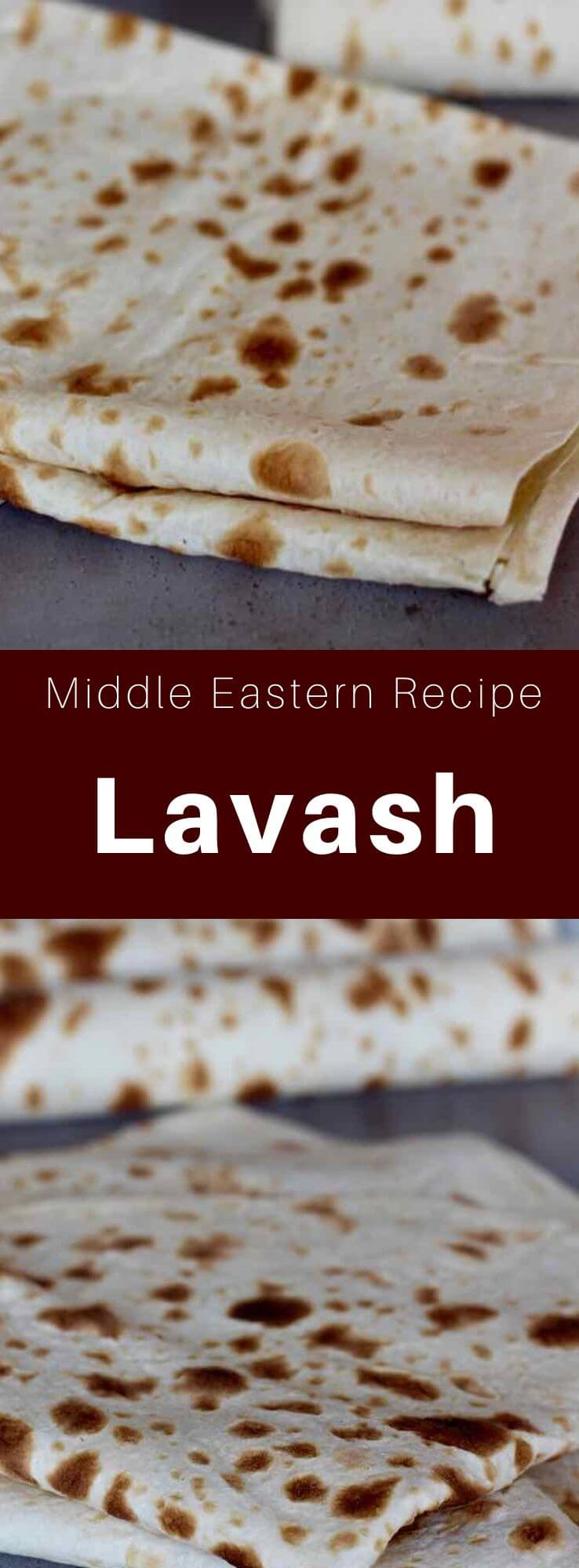 Lavash is an unleavened flatbread common to Armenia and most of the Middle East, Transcaucasia, and Western Asia regions. #MiddleEast #MiddleEastern #Armenia #ArmenianCuisine #ArmenianRecipe #WorldCuisine #196flavors