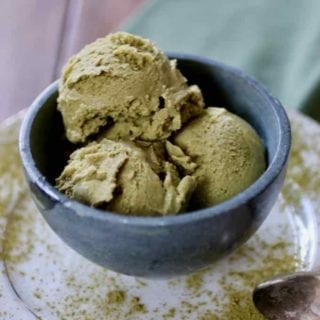 matcha ice cream