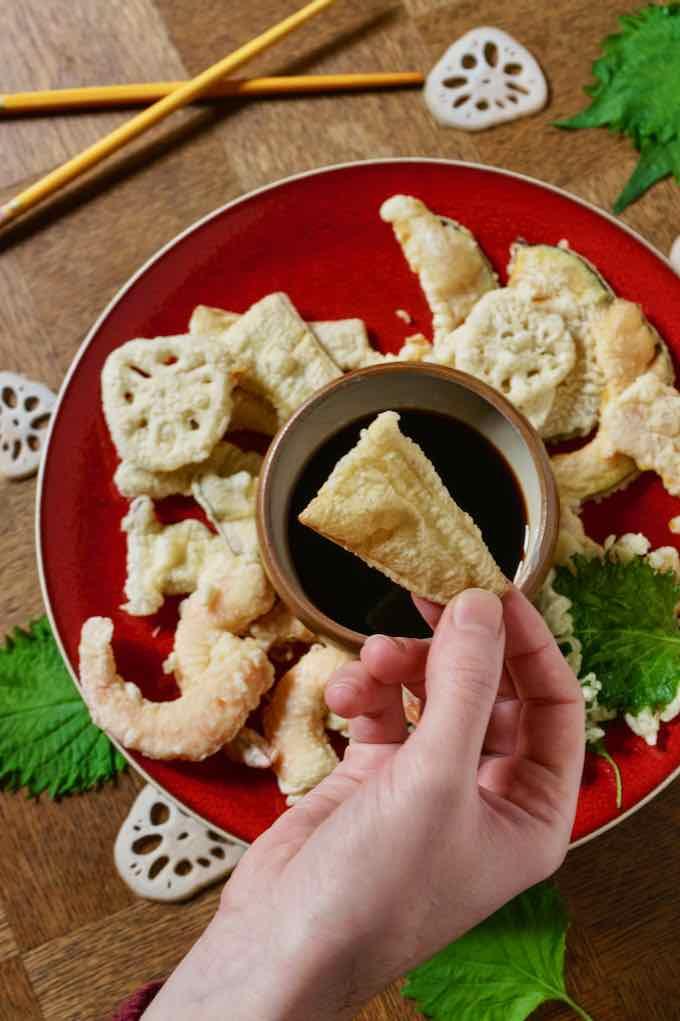 tempura traditionnel