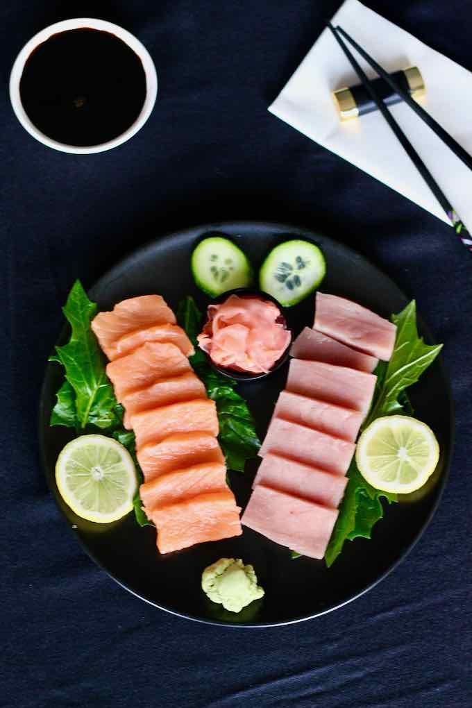 sashimi japonais