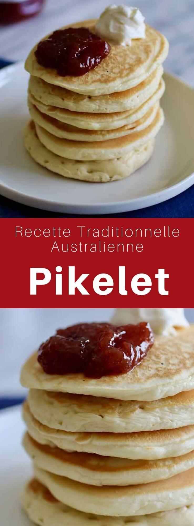 Le pikelet est une variante de crêpe épaisse populaire en Australie et en Nouvelle Zélande, semblable au pancake américain. #Australie #RecetteAustralienne #CuisineDuMonde #196flavors