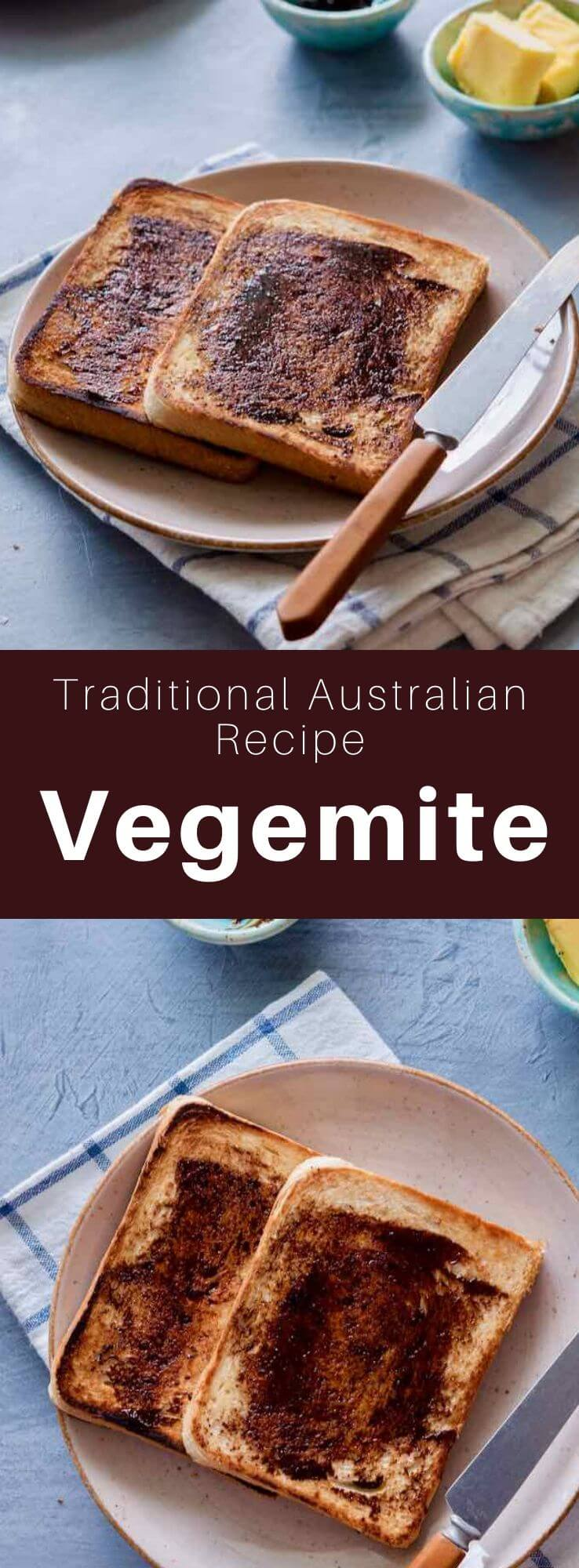 Vegemite is a dark brown and relatively salty spread made from yeast extract, mainly consumed in Australia and New Zealand. #Australia #NewZealand #WorldCuisine #196flavors