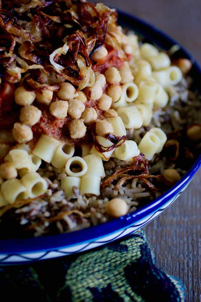 koshari traditionnel