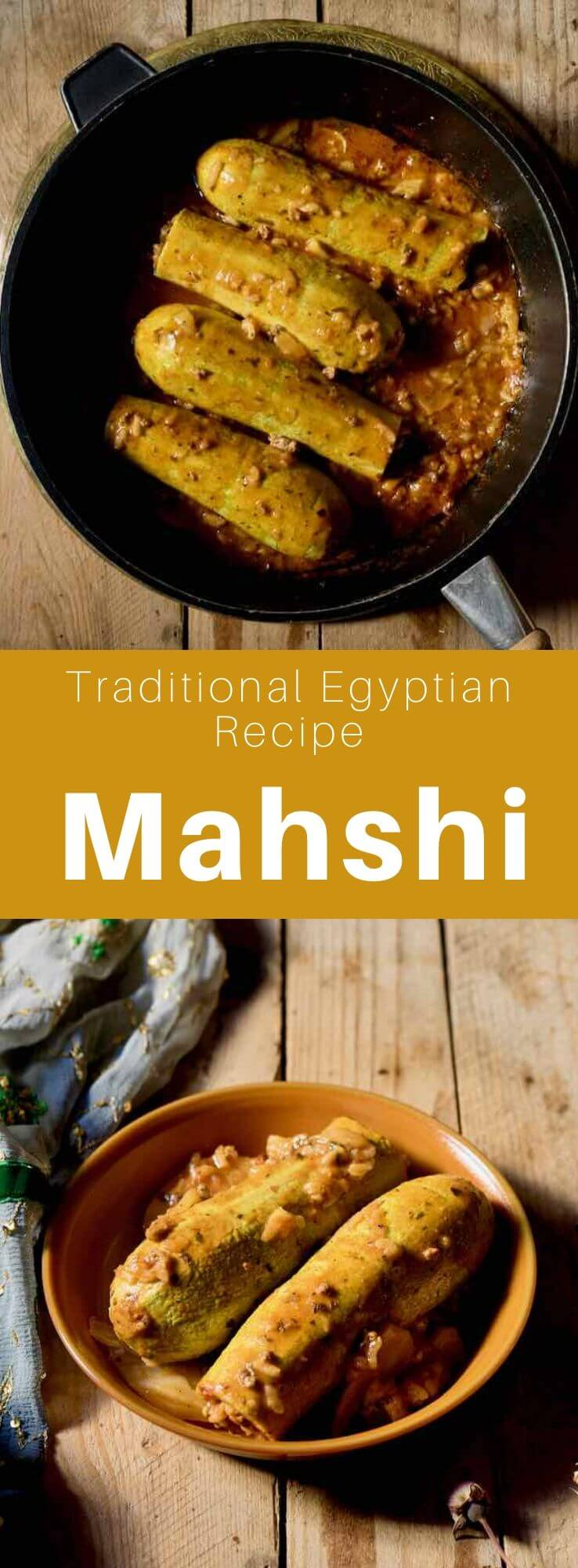 Mahshi is a dish of vegetables stuffed with rice and meat, a traditional dish from the ancient Ottoman Empire, popular in the Balkans, the Levant and Egypt. #Egypt #EgyptianCuisine #EgyptianFood #EgyptianRecipe #WorldCuisine #196flavors
