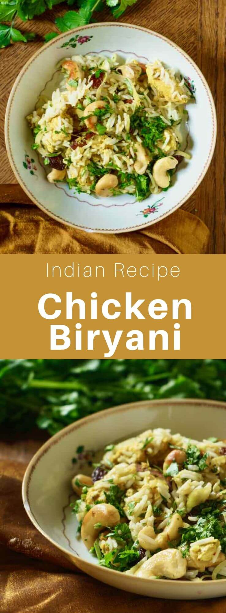 Biryani (बिरयानी) is a dish from the Indian subcontinent based on rice, in general, basmati, prepared with spices, meat, eggs or vegetables. #India #Indian #IndianRecipe #IndianCuisine #IndianFood #WorldCuisine #196flavors