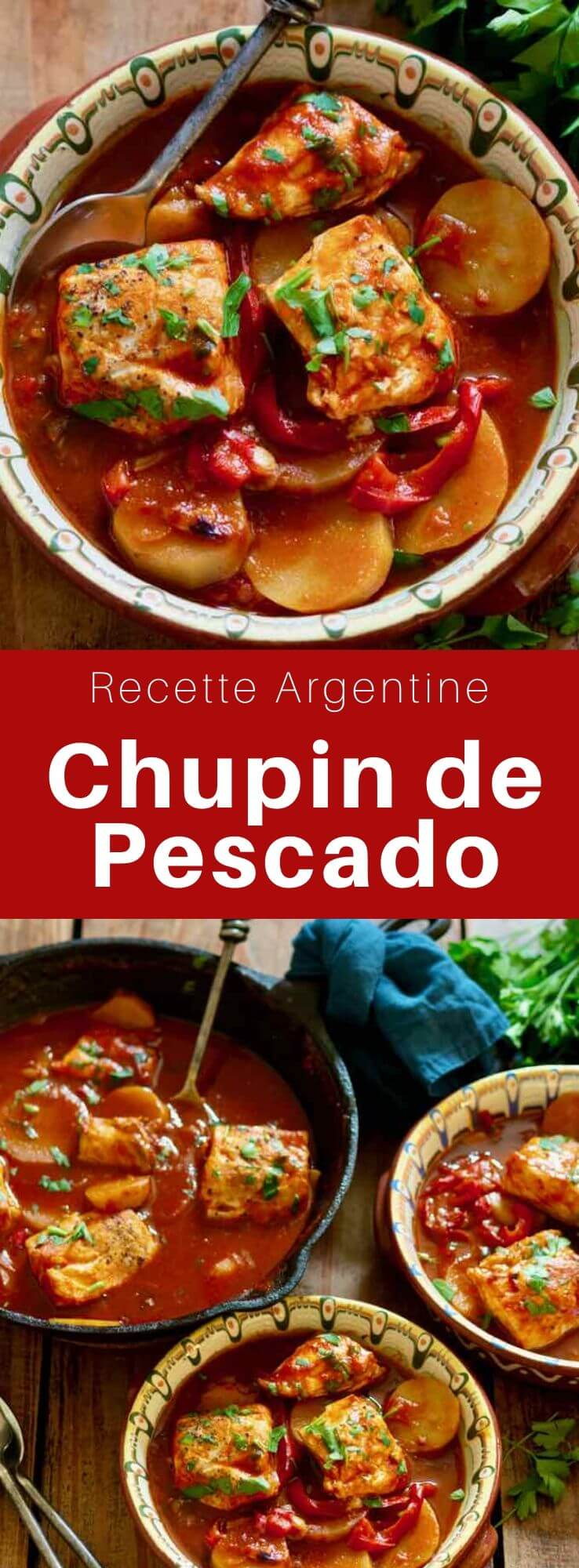 Le chupín de pescado est un plat traditionnel des cuisines argentine, uruguayenne et paraguayenne à base de poisson et de pommes de terre. #Argentine #RecetteArgentine #CuisineArgentine #CuisineDuMonde #196flavors