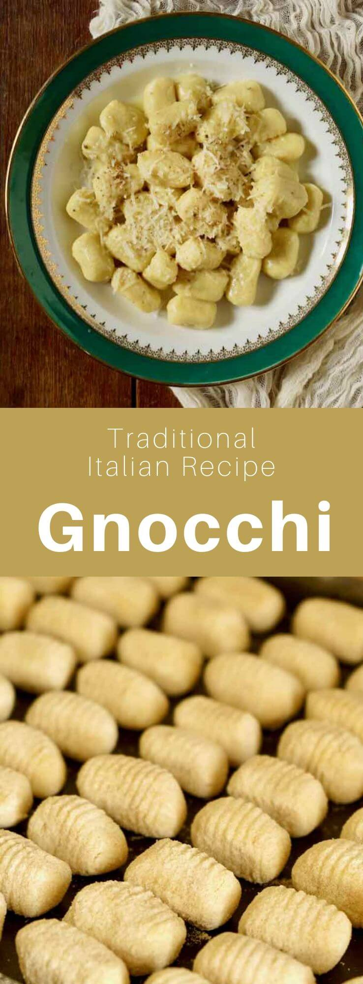 Gnocchi is a family of Italian pasta recipes that share the same name. The most common gnocchi are prepared with potatoes. #ItalianRecipe #ItalianFood #ItalianCuisine #WorldCuisine #196 flavors