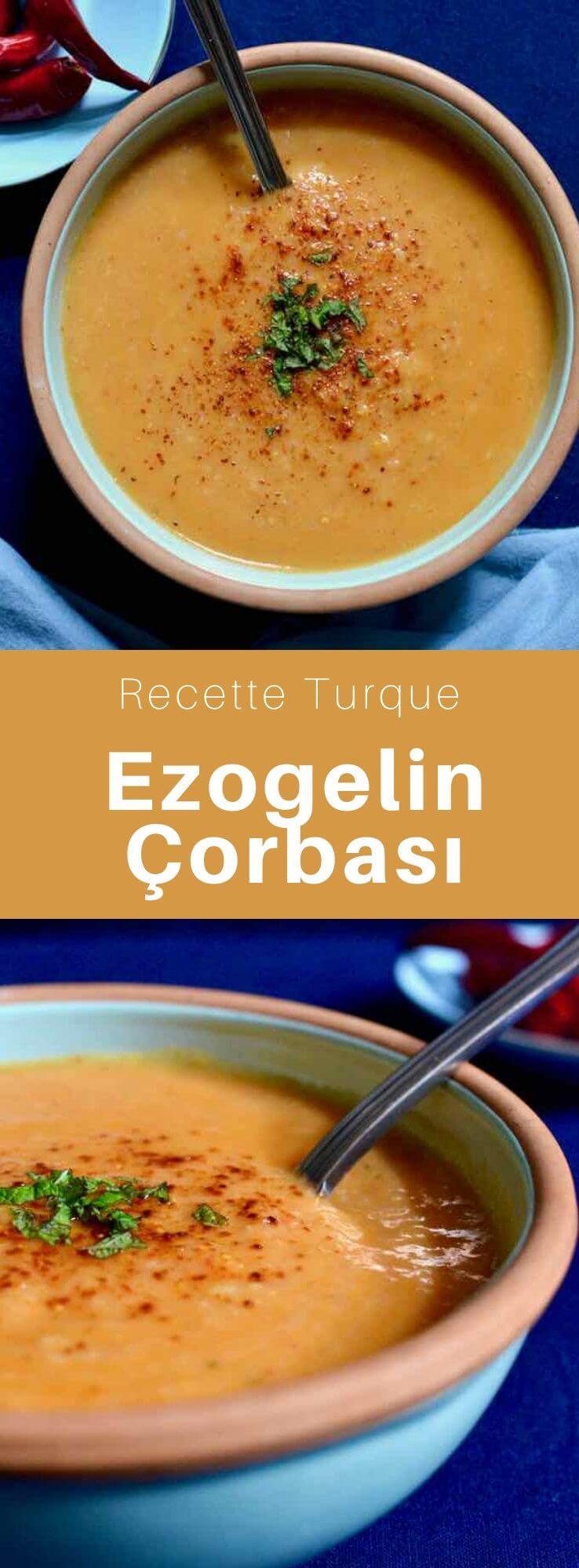 L'ezogelin çorbasi est unique à la cuisine turque. C'est une soupe à base de tomates, de boulghour et de lentilles corail. #Turquie #RecetteTurque #CuisineTurque #CuisineDuMonde #196flavors
