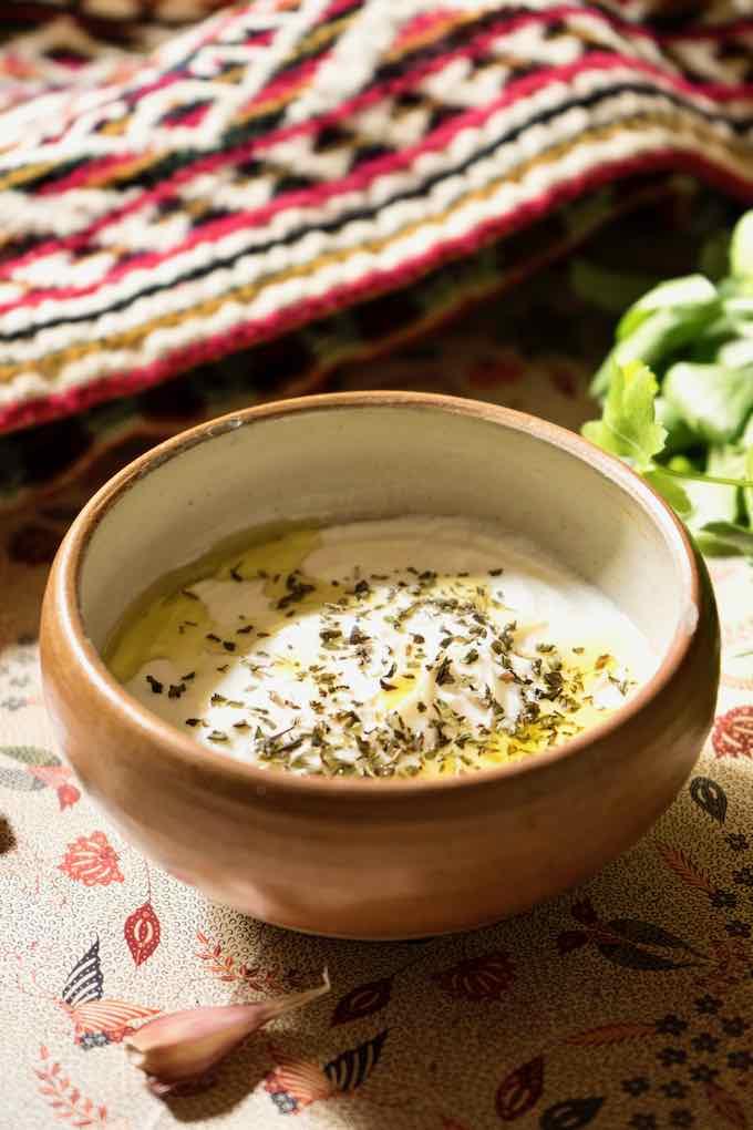 haydari without cucumber