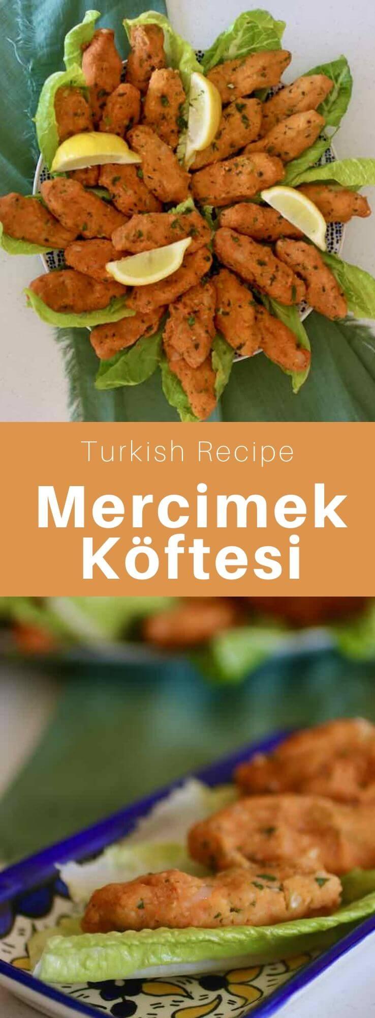 Mercimek köftesi, one of the most popular mezze of Turkish cuisine, are vegan dumplings made with red lentils and bulgur. #Turkey #Turkish #TurkishRecipe #TurkishFood #TurkishCuisine #WorldCuisine #196flavors