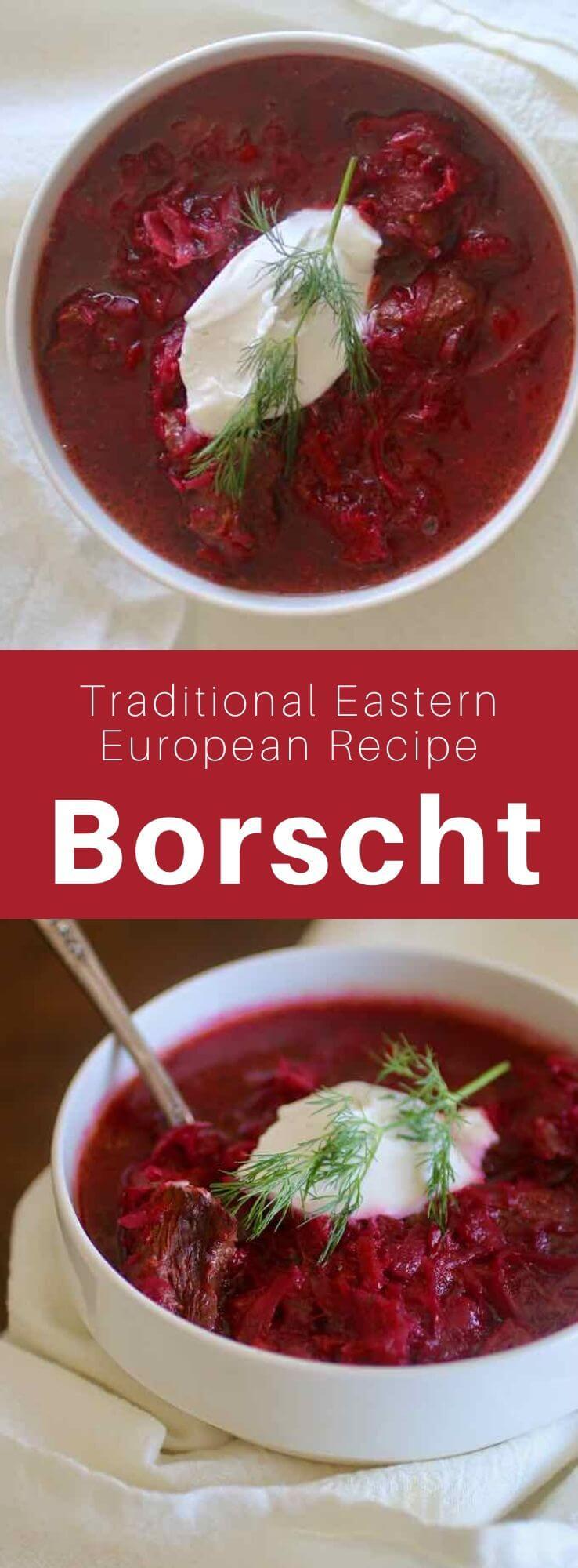 Borscht Traditional Eastern European Soup Recipe 196 Flavors