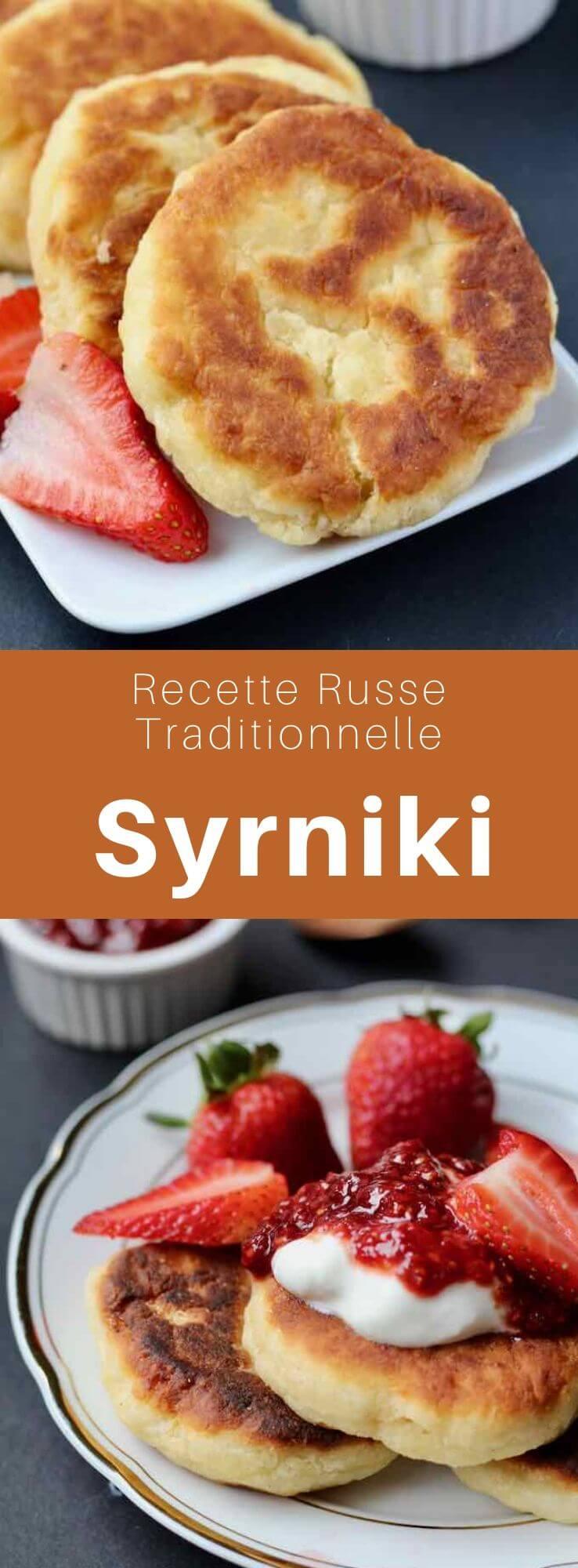 Les syrniki (сырники) ou tvorozhniki (творо́жники) sont des beignets de tvarog (Творо́г) ou fromage cottage (quark) d'origine russe, très populaires en Europe de l'Est. #Ukraine #RecetteUkrainienne #CuisineUkrainienne #Russie #RecetteRusse #CuisineRusse #CuisineDuMonde #196flavors