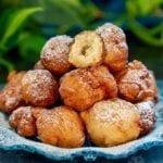 boules de beignets frits