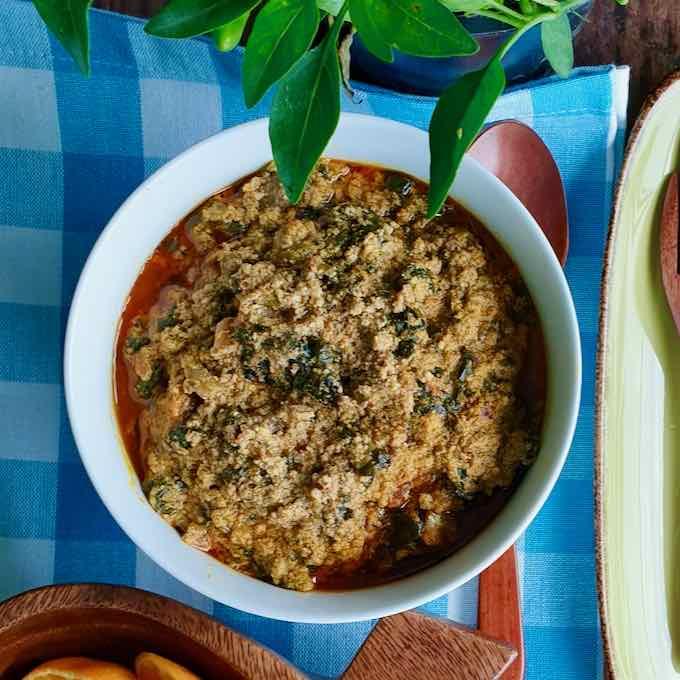 Egusi Soup Traditonal West African Recipe 196 Flavors